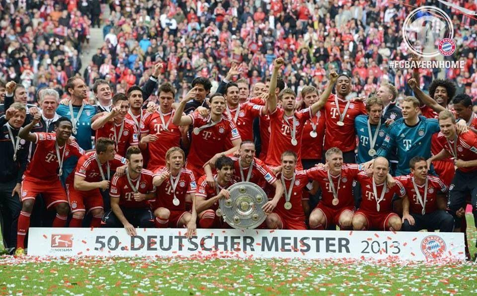 Bayern München 2013 Champs