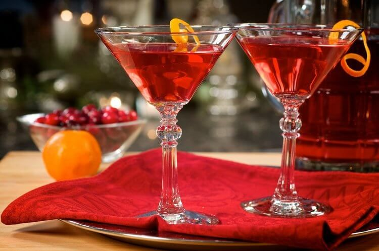 коктейль космополитен рецепт клюквенный морс куантро