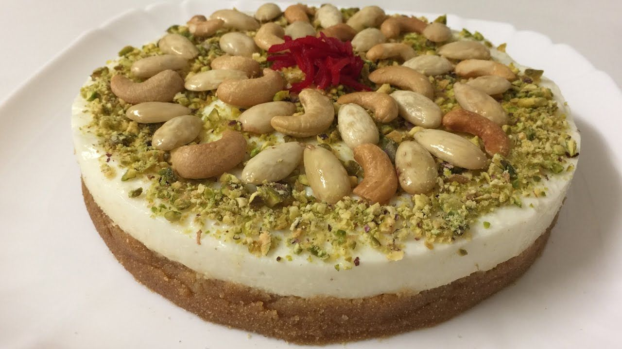 Lebanese Mafroukh Semolina With Ashta By Easylife مفروكة بالقشطة على الطريقة اللبنانية You Arabic Sweets Recipes Middle Eastern Desserts Lebanese Desserts