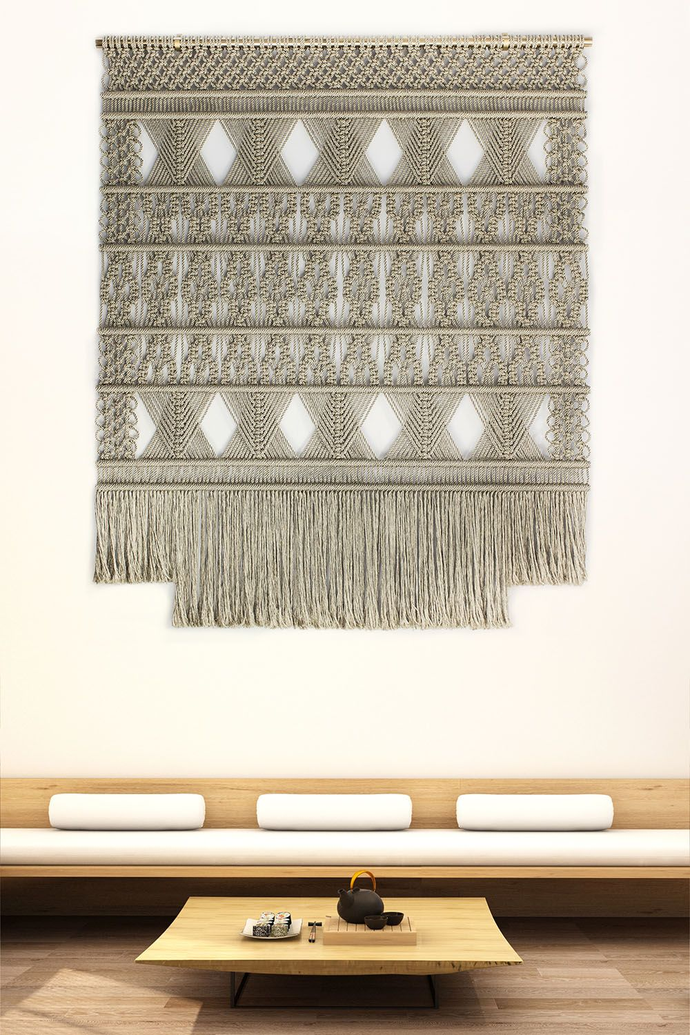 Macrame High-End Exclusive Wallhangings for your Interior by Milla Novo