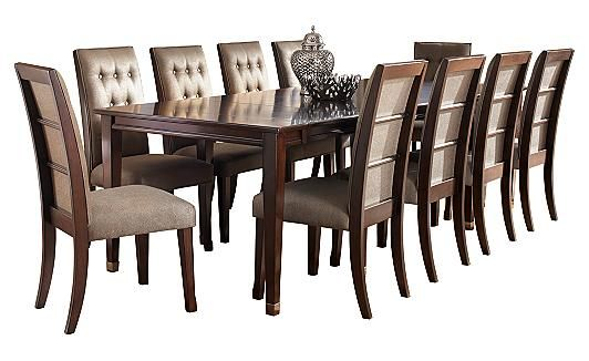 Larimer Extension Dining Table  Can Extend To Seat 8. Ashleyu0027s Furniture.