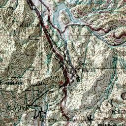 Topographical Map Southern Oregon Google Search Tattoos - Topographical map of oregon