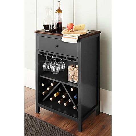 Chatham House Baldwin Wine Cabinet In