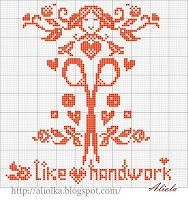 Stitchy themed cross stitch