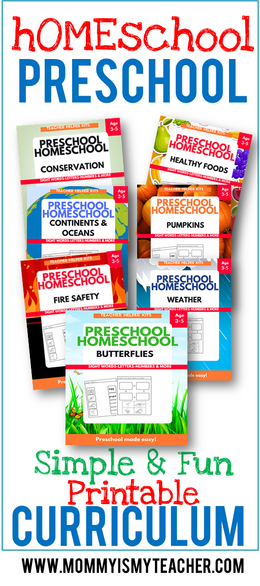 Wow! I love this fun preschool homeschool curriculum! It