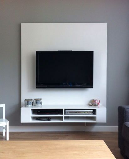 Tv Meubel Floating Stand Ikea Shelves Mobile Panel