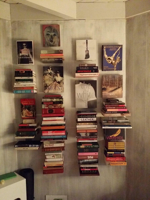 Amazon Umbra Conceal Floating Bookshelf Large White Home Kitchen