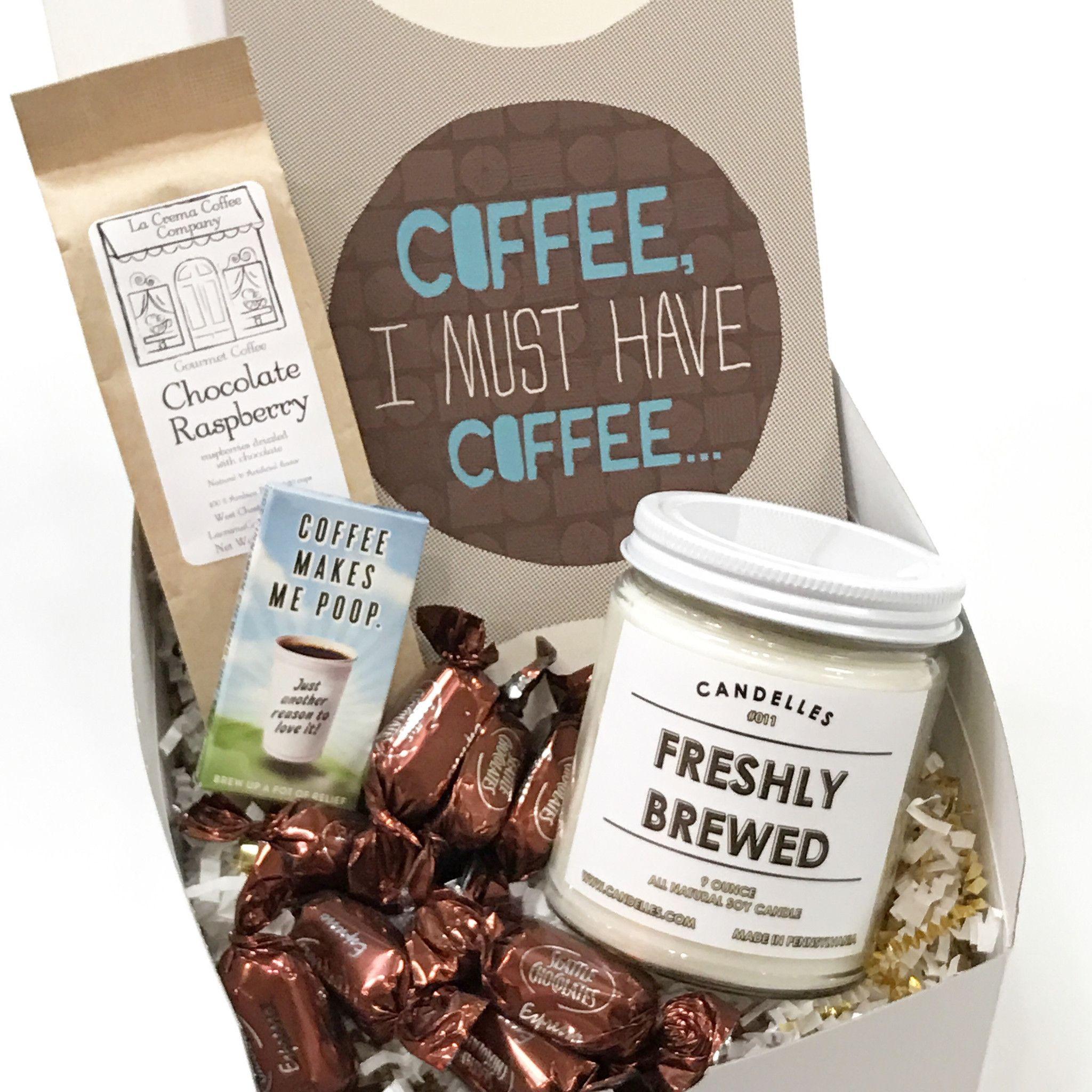Coffee Addict Gift Box Gift box birthday, Cheer up gifts