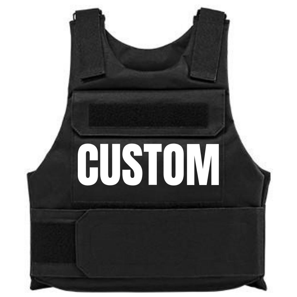 CUSTOM BULLETPROOF VEST in 2020 Vest, Black, white, Black