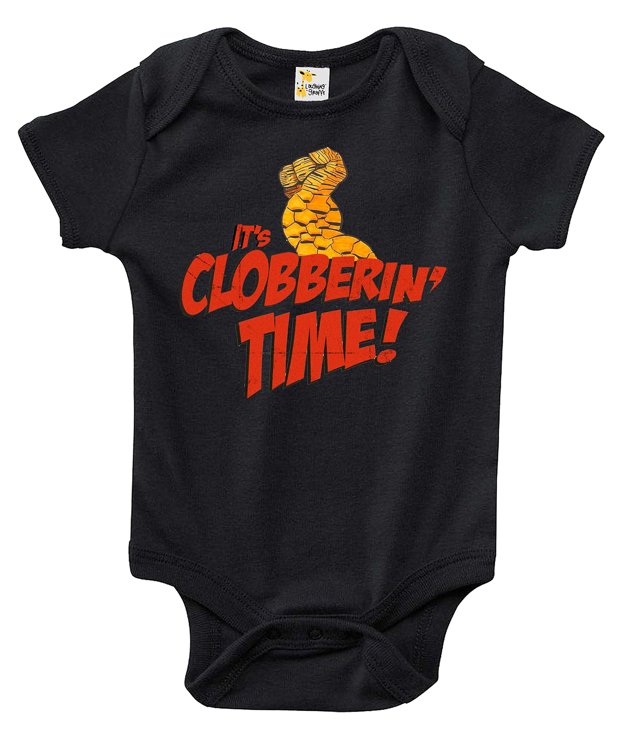 It s Clobberin Time Baby Bodysuit Cute The Thing Infant Baby Clothes