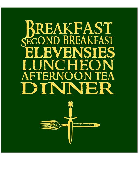 Superb Middle Earth · Lord Of The Rings Merry U0026 Pippin Breakfast Quote By  FireAntTees