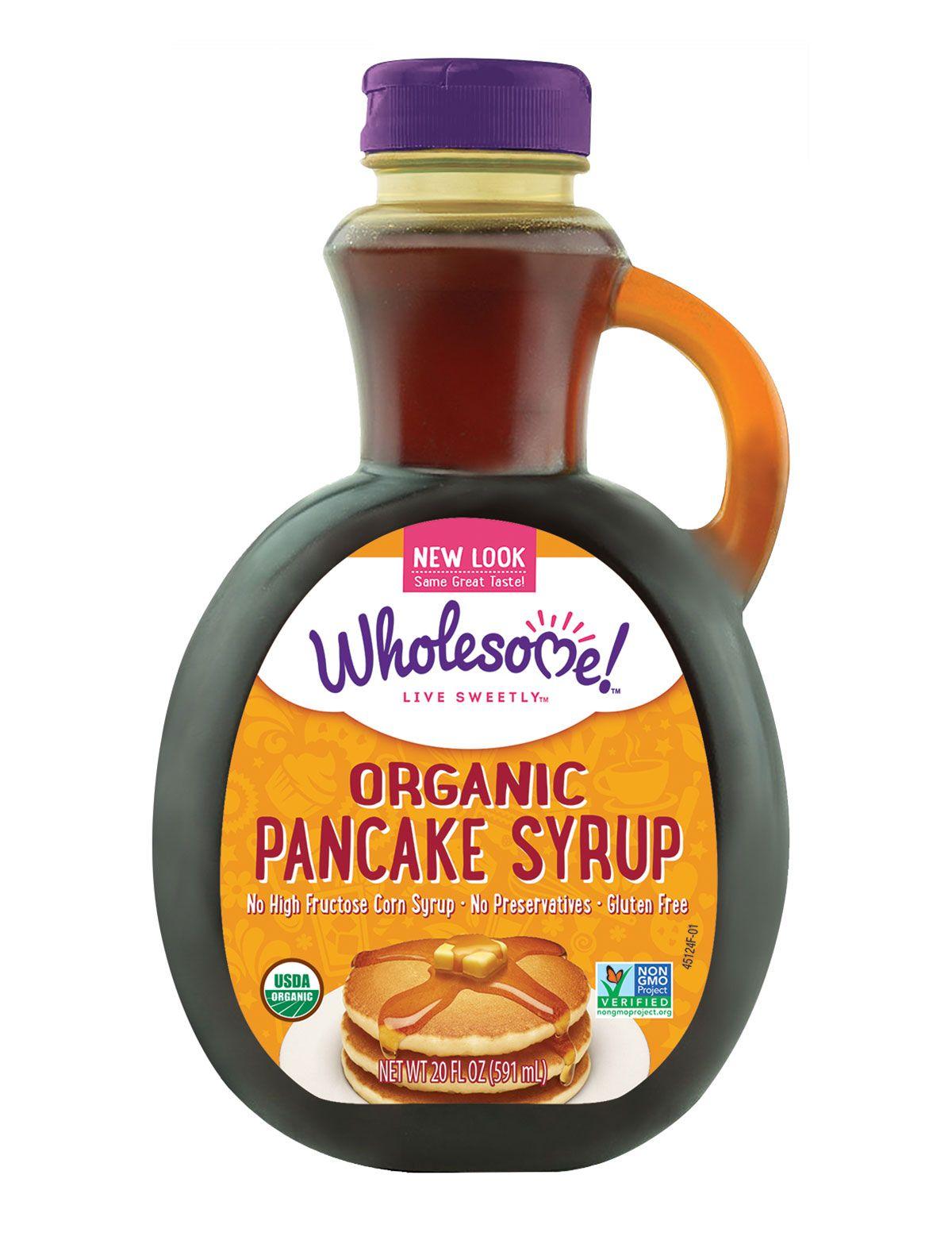 Organic Pancake Syrup Wholesome Sweeteners Organic Pancakes Pancake Syrup