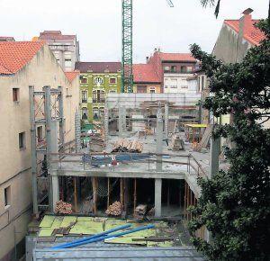 Las obras de la Casa Consistorial de Ribadesella finalizarán este año