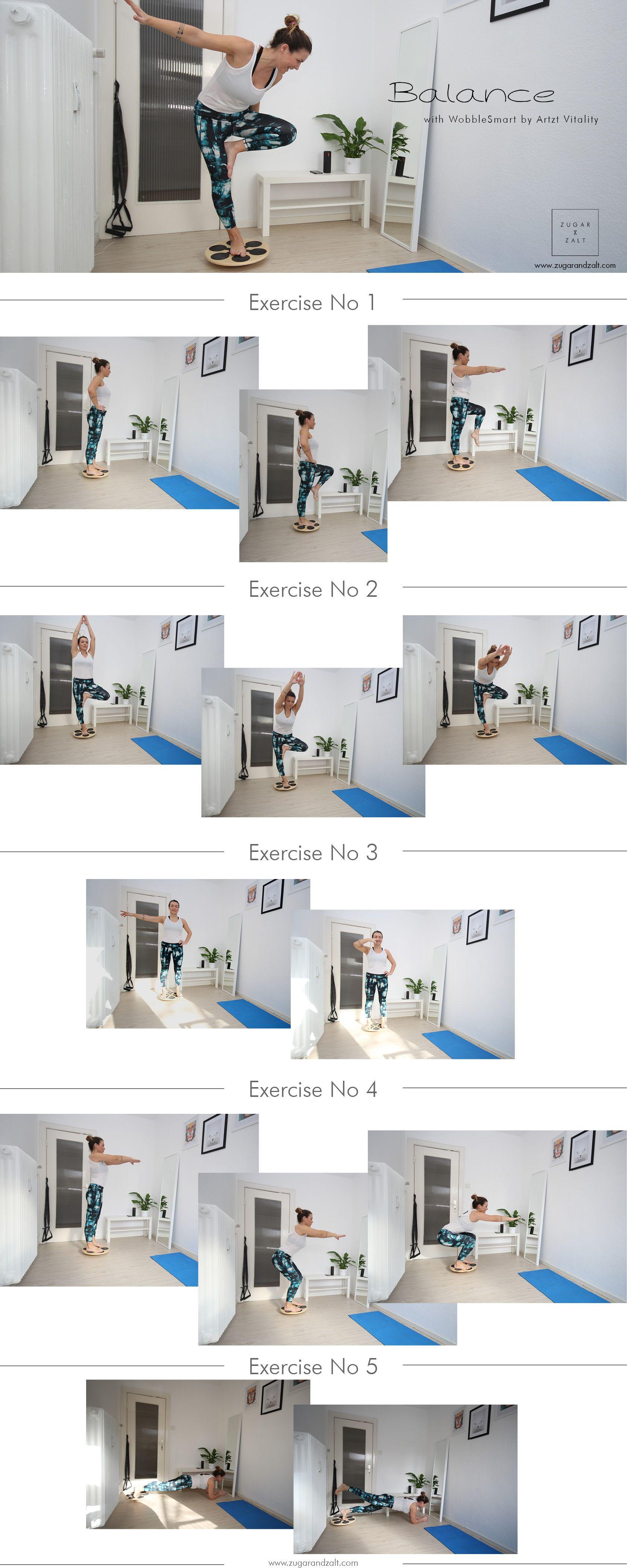 Ganzkörper-Übungen mit WobbleSmart _ Stabilität und Balance