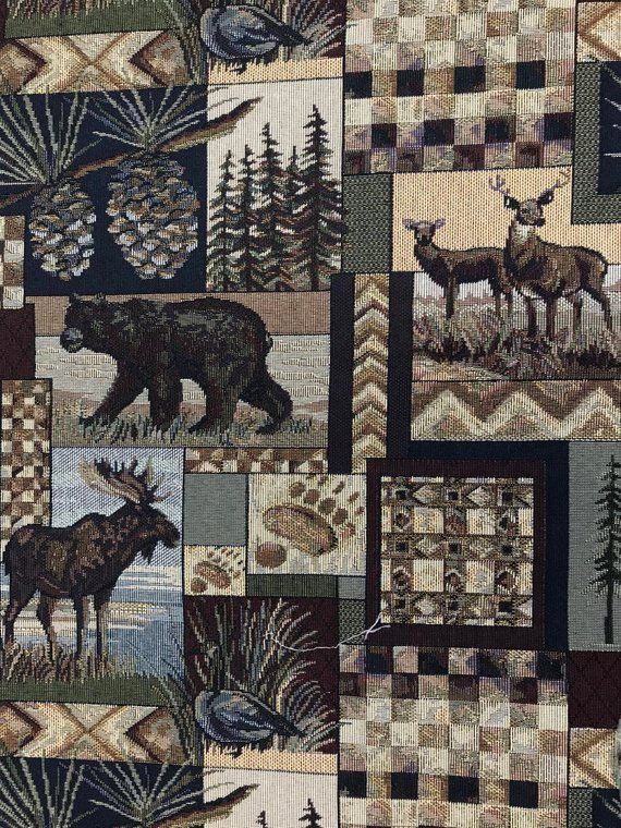 High Country Lodge Style Upholstery Fabric From Fabrics That Go Bear
