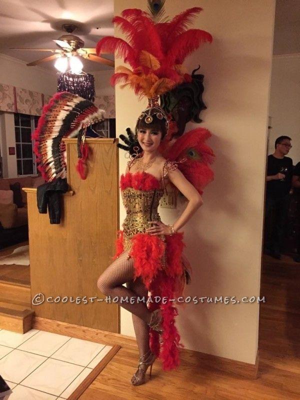 Beautiful Las Vegas Showgirl Costume Samba Costumed Pinterest