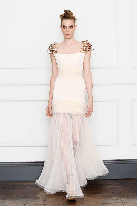 White cocktail dress for wedding  DILEK HANIF white dress  White  Pinterest  Engagement party