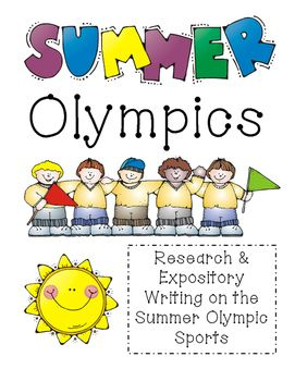 have your students research one olympic sport and the final summer olympic sports research expository writing upper