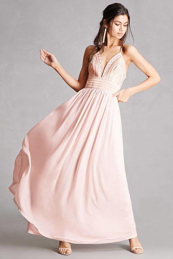 7fa19e1db31 FOREVER 21 Soieblu Metallic Maxi Dress