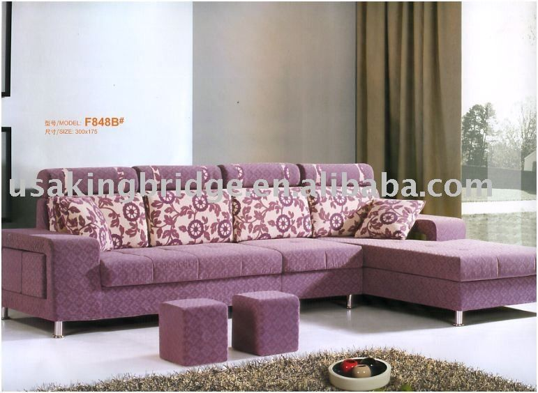 Exceptionnel Lavender Sectional Sofa