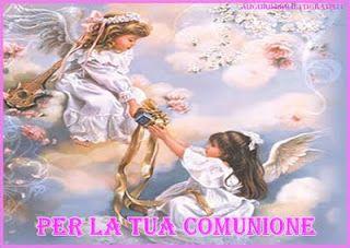 Auguri E Frasi Per La Prima Comunione Quadri Con Angeli Angeli