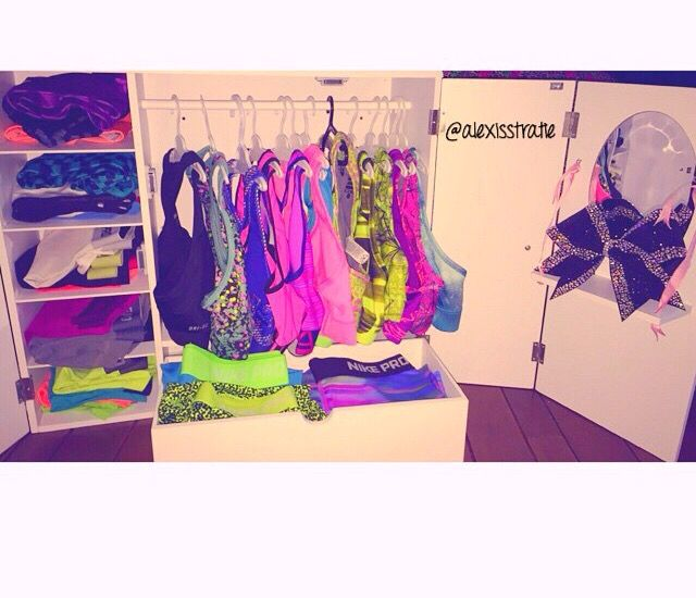 I want this Nike pro closet!!
