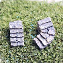 Venda 1 pcs passos escadas 3-6 cm fadas gnomos de jardim miniaturas musgo terrários resina artesanato diy para casa acessórios de decoração(China (Mainland))