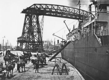 El puerto de Buenos Aires 1930