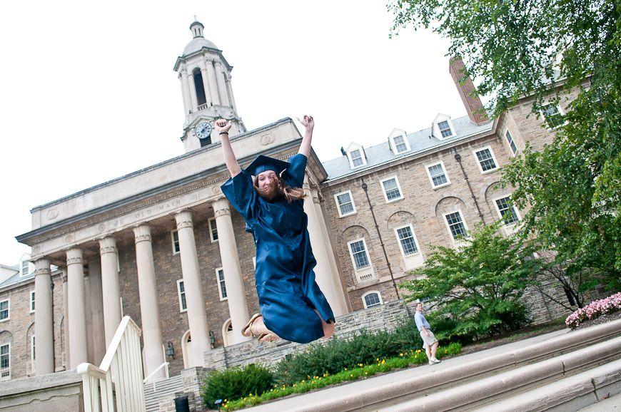 Liz Graduated from Penn State! College graduation photos