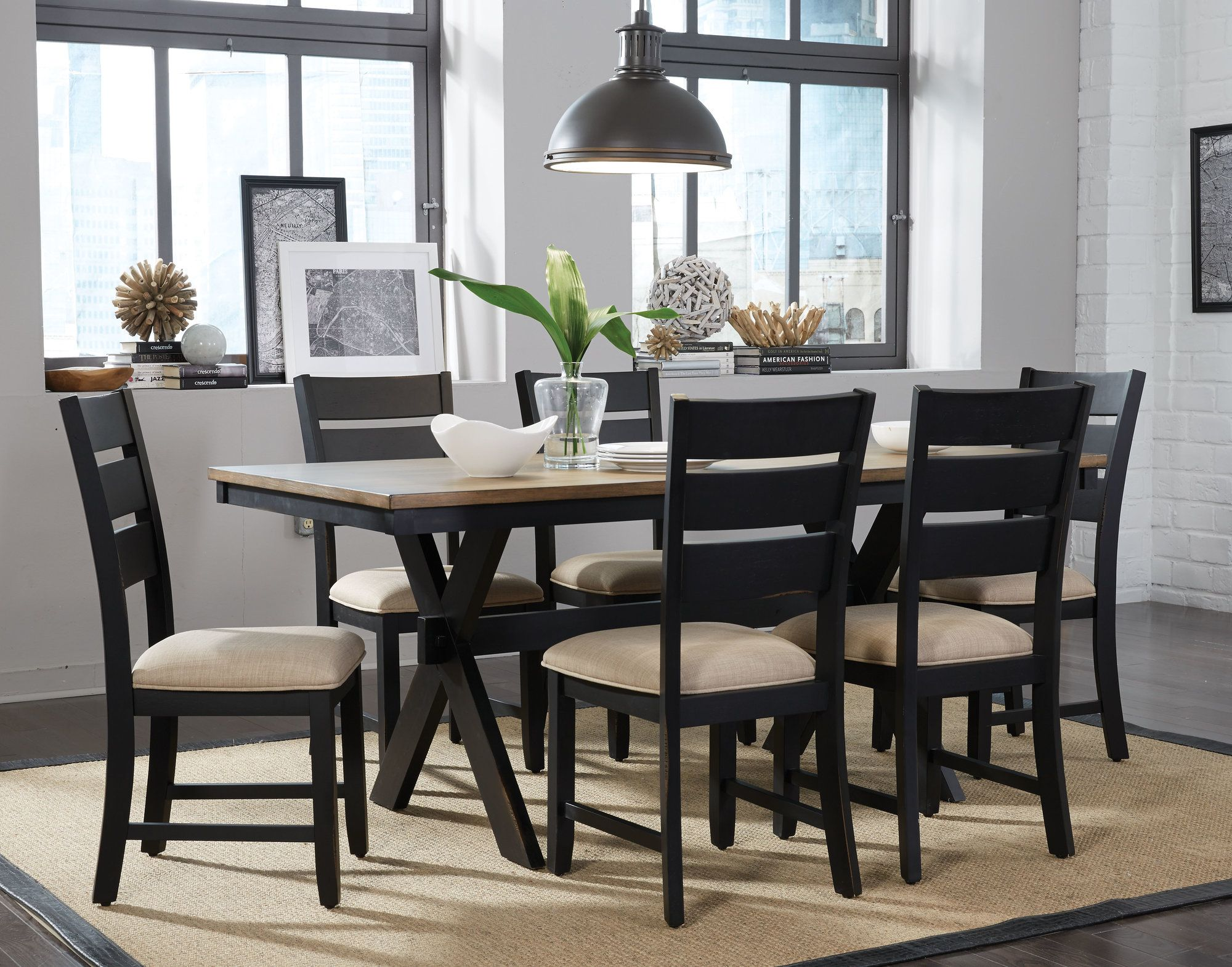 de197a9736 Braydon 7 Piece Dining Set   Products   Kitchen dining sets, Dining ...