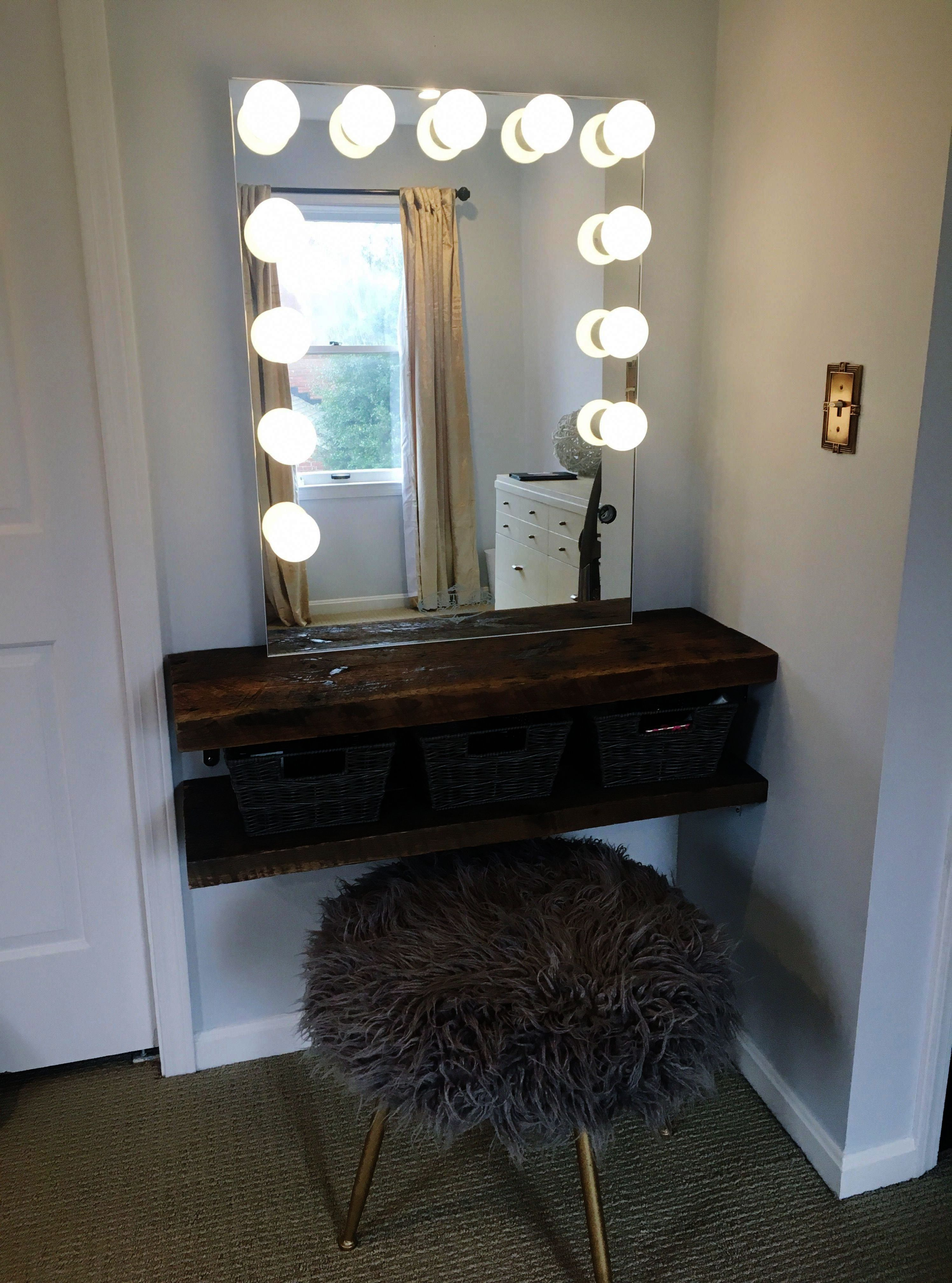 Makeup Model On Makeup Expo Nyc Such Makeup Vanity Table Only When Makeup Vanity For Sale Kijiji Diy Beauty Room Vanity Diy Bedroom Bedroom Diy
