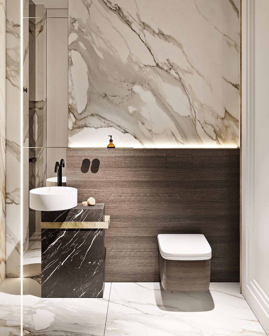 Russian Contemporary Apartment With Boca Do Lobo By Ekaterina Lashmano Luxury Master Bathrooms Modern Bathroom Modern Powder Rooms