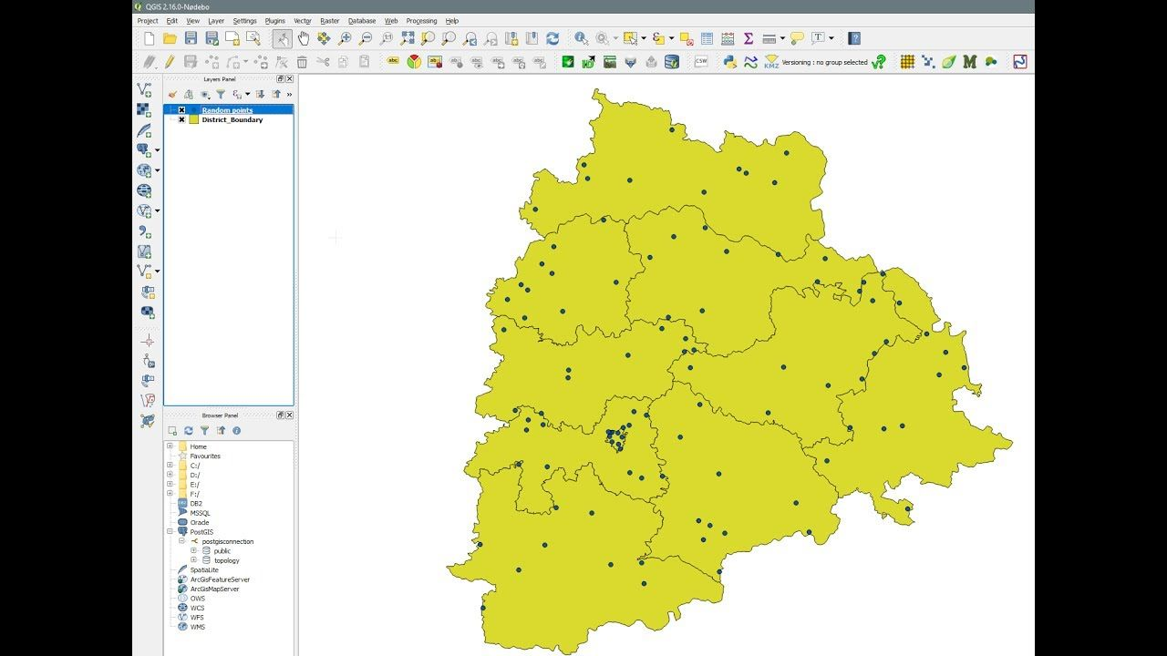 QGIS Random Points Inside Polygon create single or multiple ... on specialized maps, natural maps, emotional maps, brown maps, no maps, several maps,