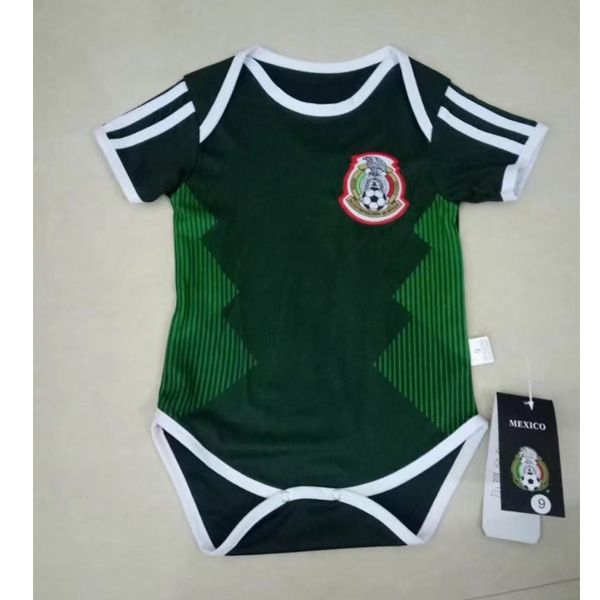 38b970b17 Top Quality free shipping Mexico 2018 World Cup Home Infant Cheap Football  Shirt Soccer Jersey for your Baby Kids on dosoccerjersey.co shop