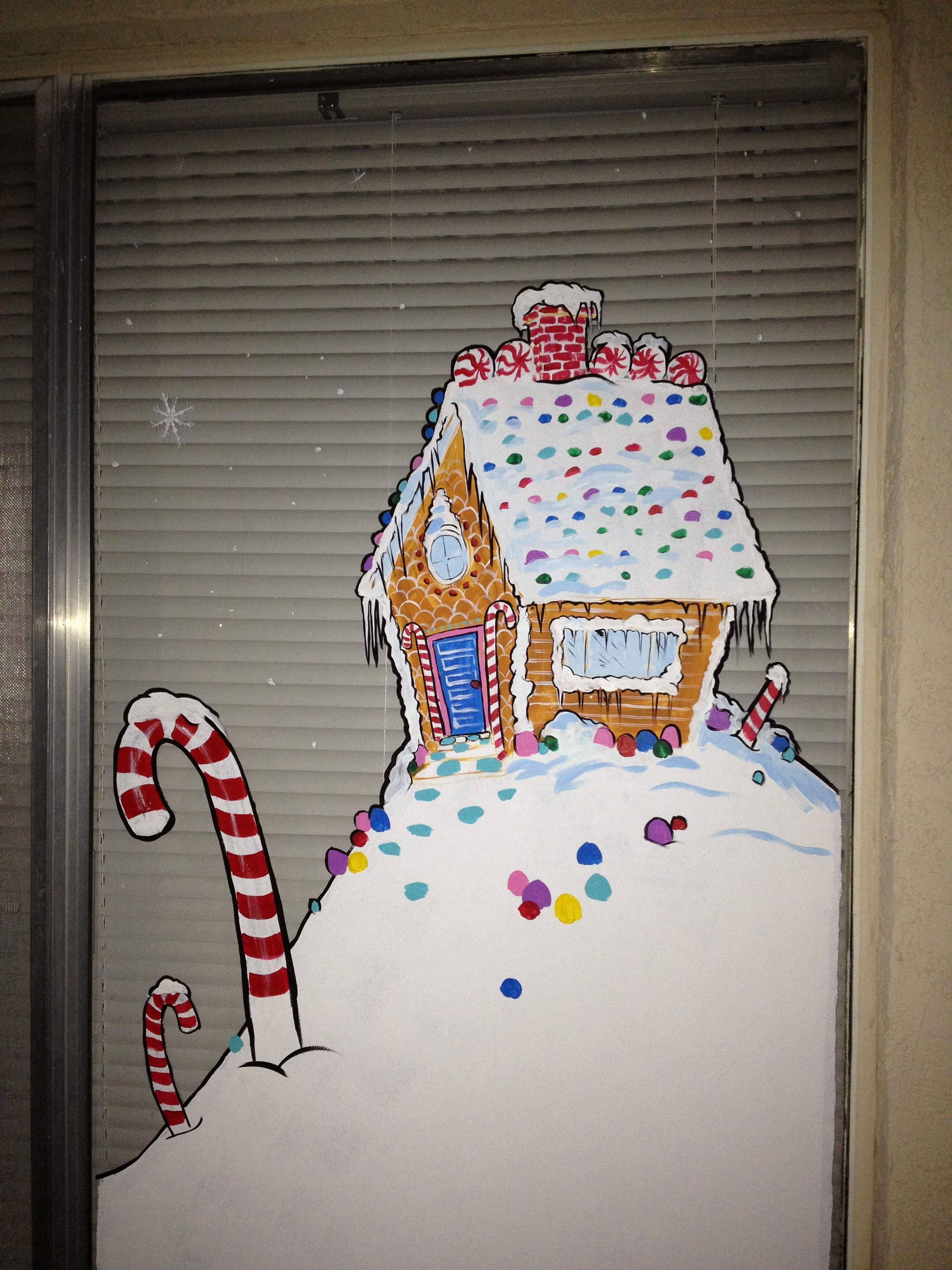 Window Painting By Artist Daniel Langhans