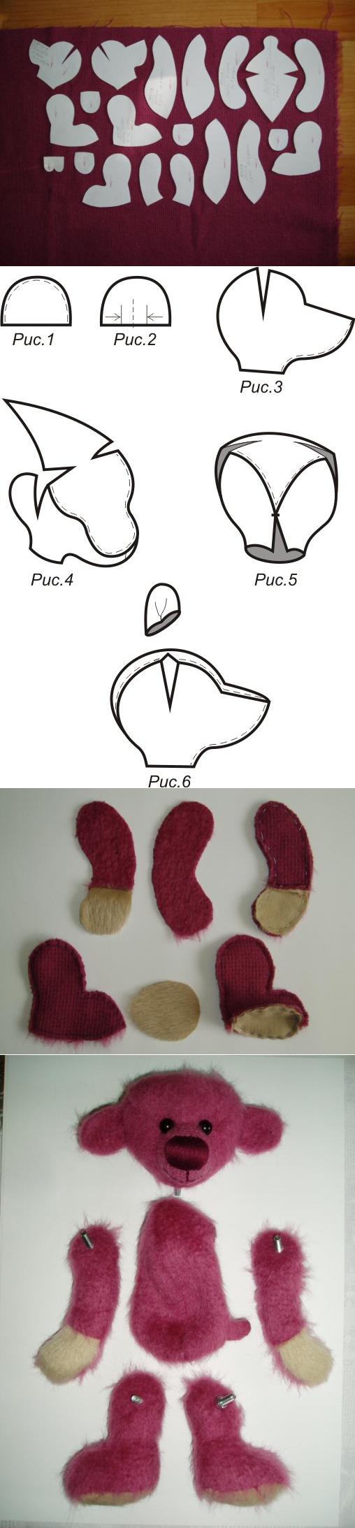 Pin von Marcela Rico auf peluches | Pinterest | Bären, Handarbeiten ...
