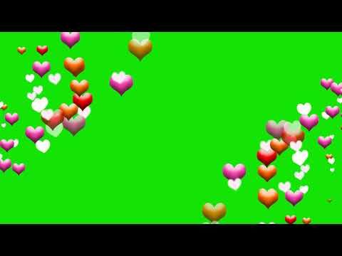 green screen love effects - green screen video download mp4