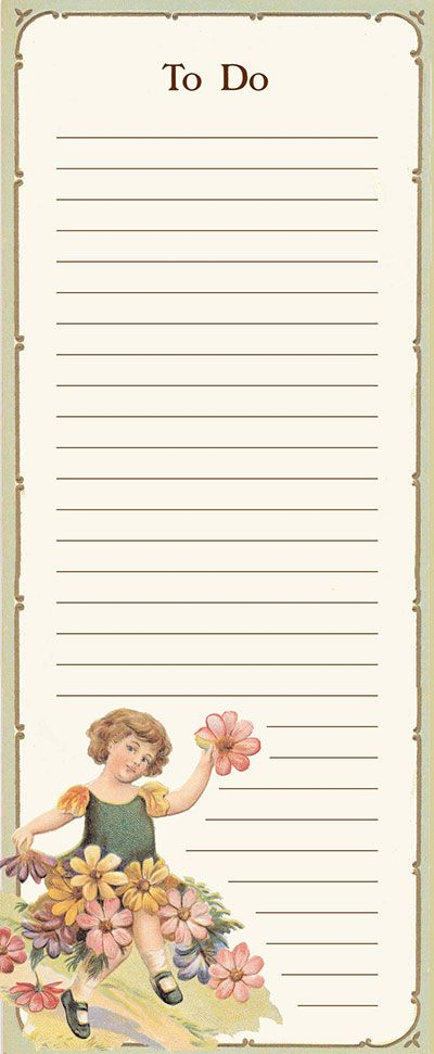 free printable to do lists free daily images projects from freevintagegraphicscom