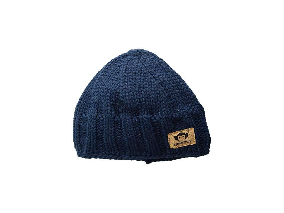 fd7d5a180e0e4 Appaman Kids Soft Cable Knit Rocky Hat (Infant Toddler Little Kids Big Kids)  (Navy Blue) Caps. Warm up with a winter-wear classic in the Appaman Kids  Soft ...