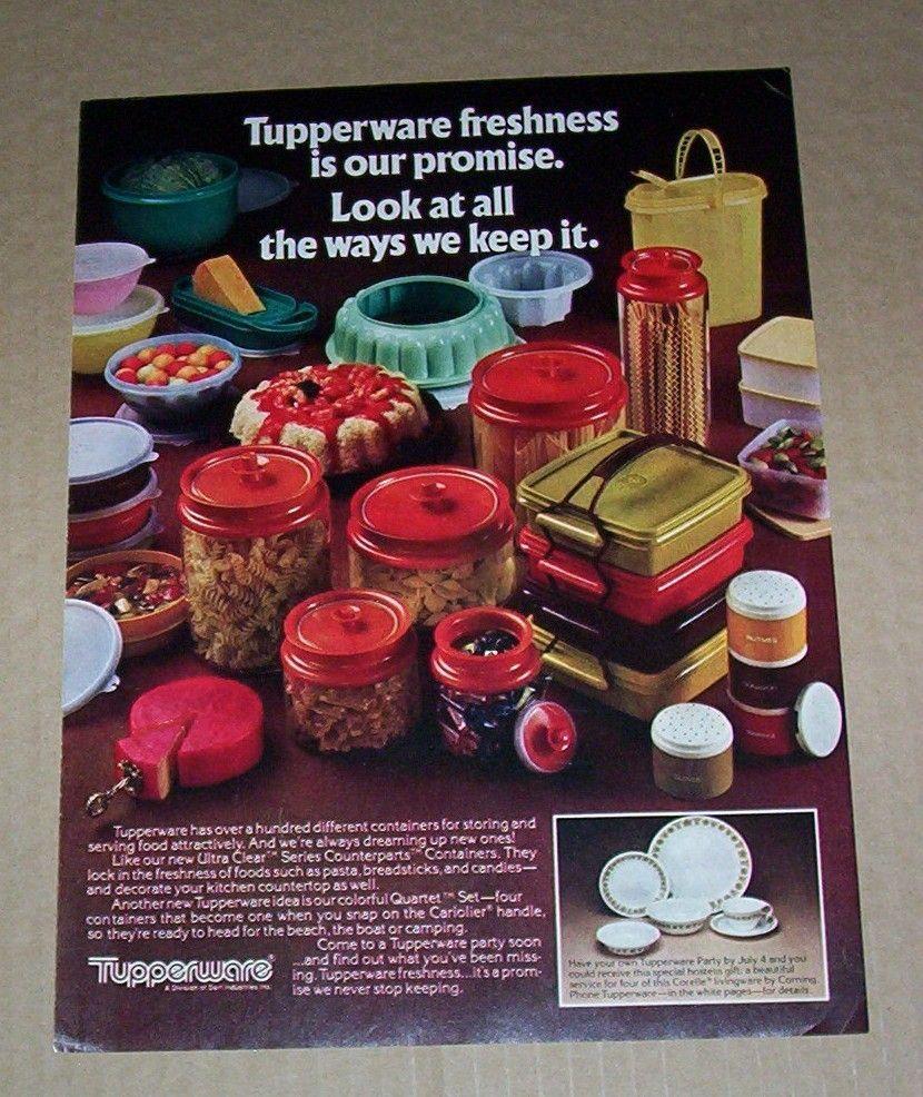 tupperware ad circa 1981 vintage tupperware ads pinterest. Black Bedroom Furniture Sets. Home Design Ideas