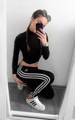 Adidas Superstar Tumblr Girl