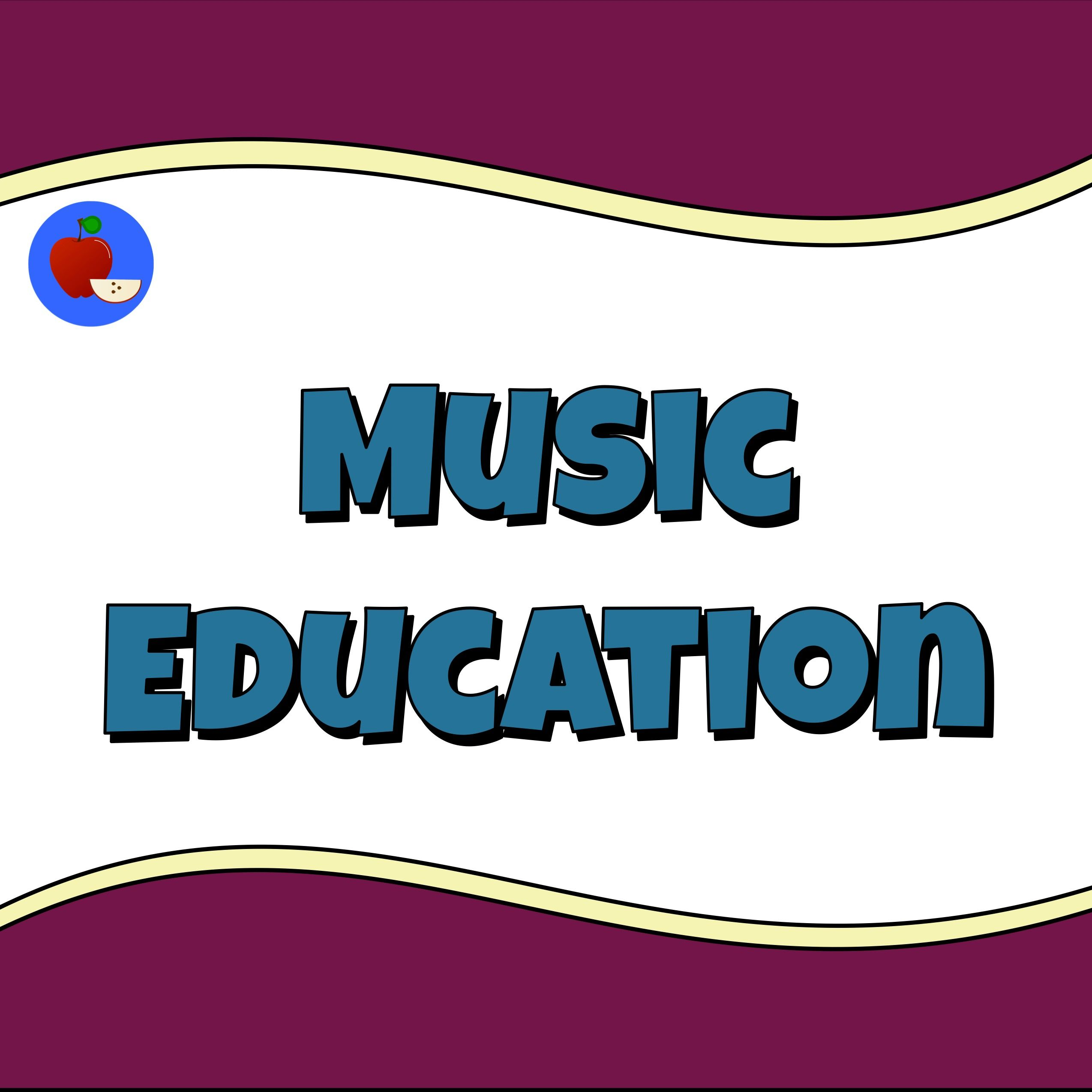 Music Education Image By Terbet Lane Learning Resources On