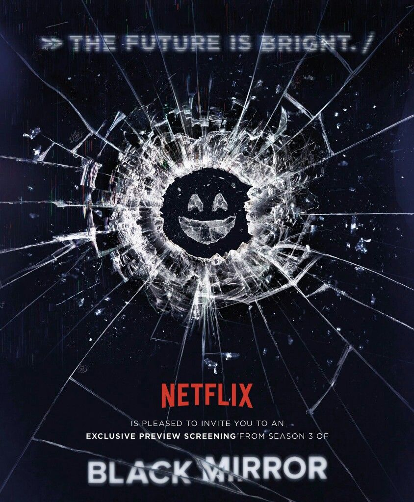 Black mirror poster netflix black mirror pinterest for Mirror 3 movie
