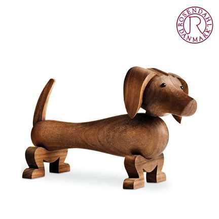 Share and get a 10% off coupon code! Kay Bojesen: Wooden Dog Dachshund Rosendahl | NOVA68 Modern Design