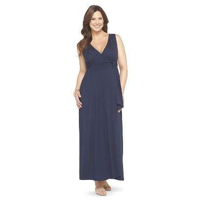 730366e45 Maternity Sleeveless Maxi Dress-Liz Lange  for Target  Armario De Embarazo