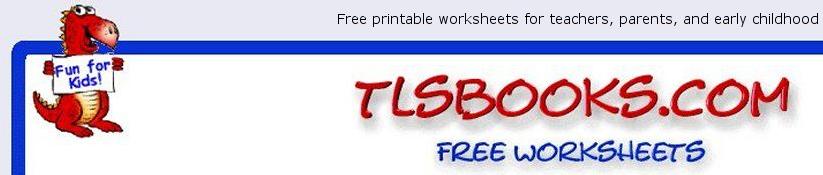 TLSbooks.com -free printables worksheets | Worksheets | Pinterest ...