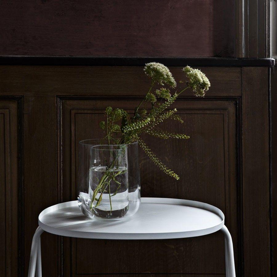 menu - beistelltisch afteroom side table, weiß, 25cm| schÖner, Moderne