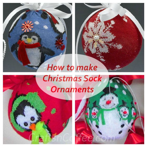 Simple Cheap Christmas Gifts: These Ornaments Are So Quick & Easy (and Super Cute). And
