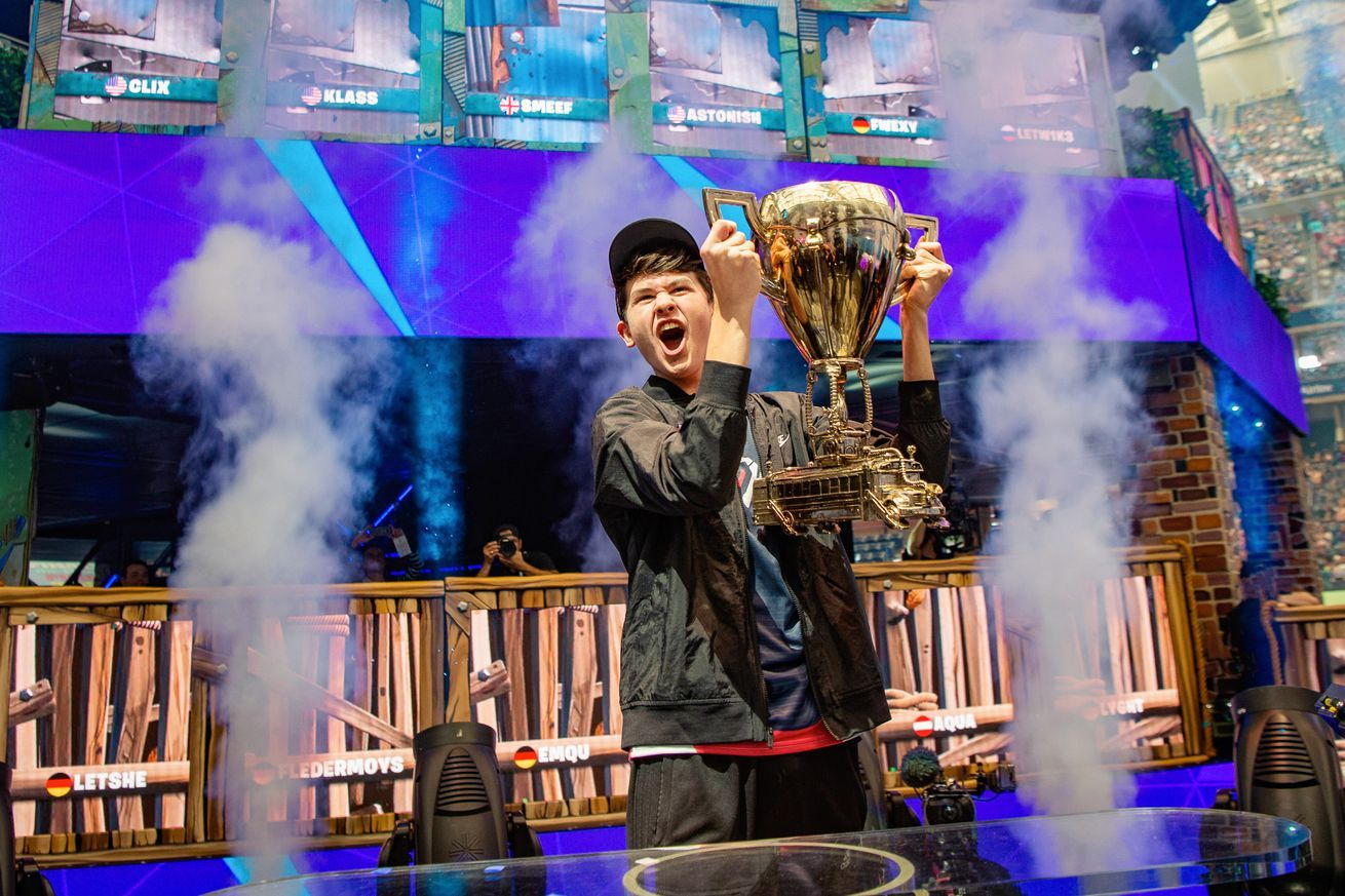 The Fortnite World Cup Finals Were A Victory Lap For Epic Games World Cup Champions World Cup Final World Cup