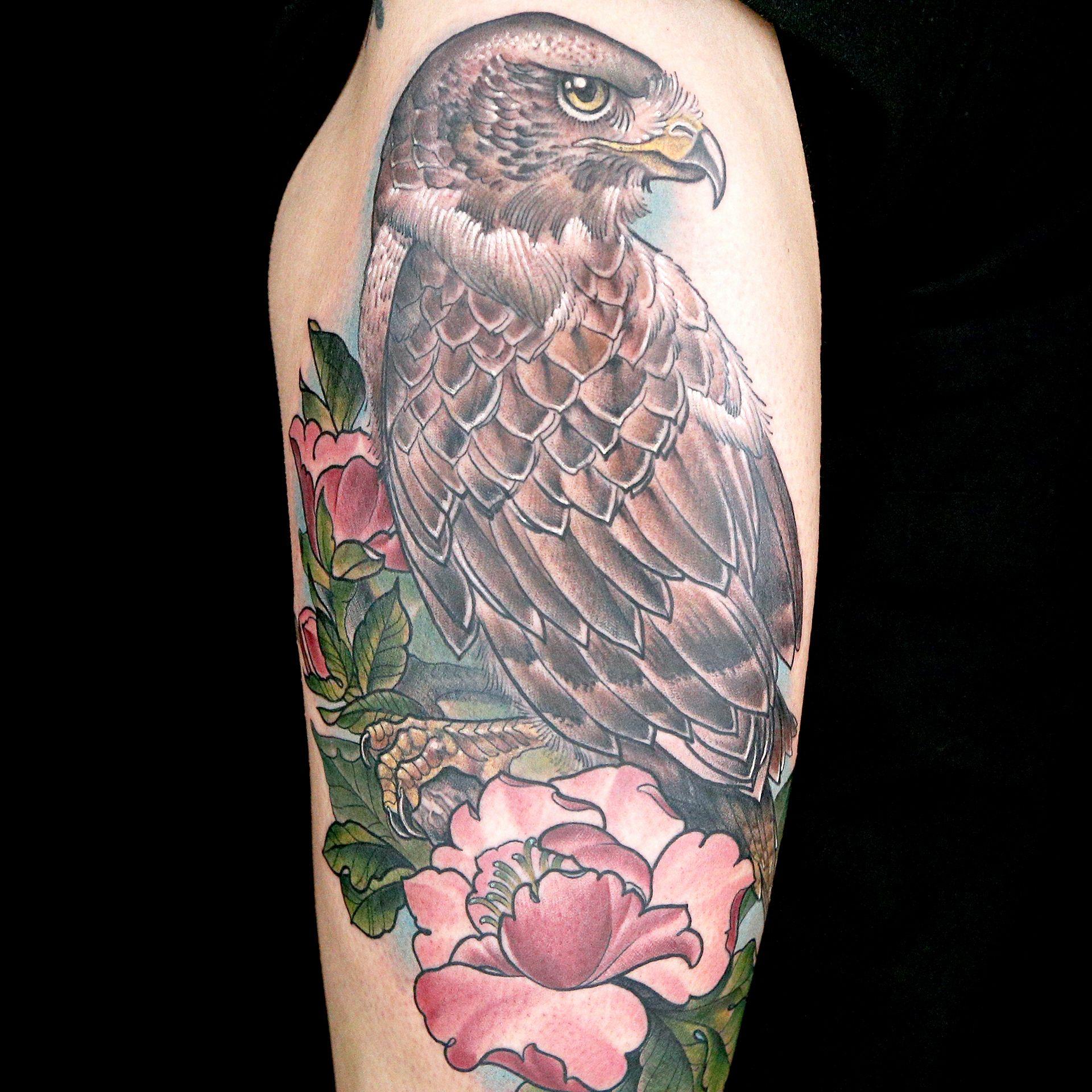 Eagle Tattoo by Artistic Skin Designs (April Nicole & Dane